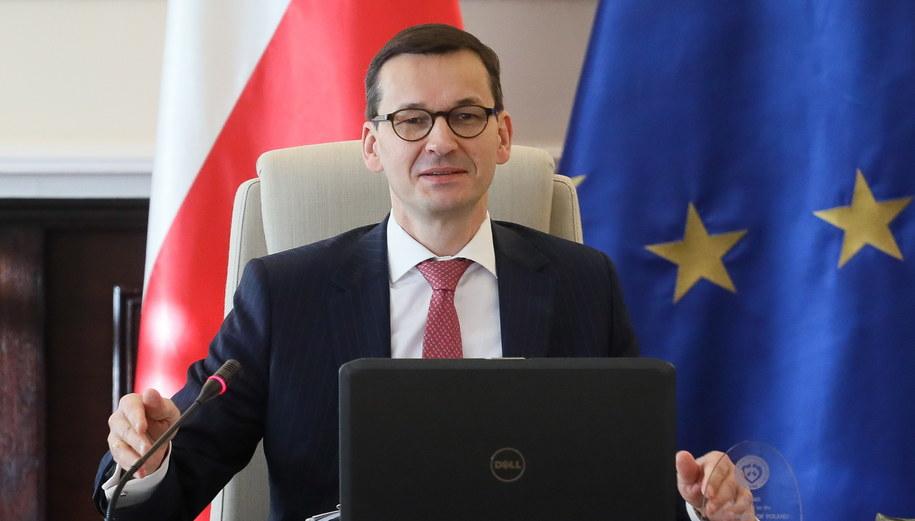 Premier Mateusz Morawiecki /Paweł Supernak /PAP