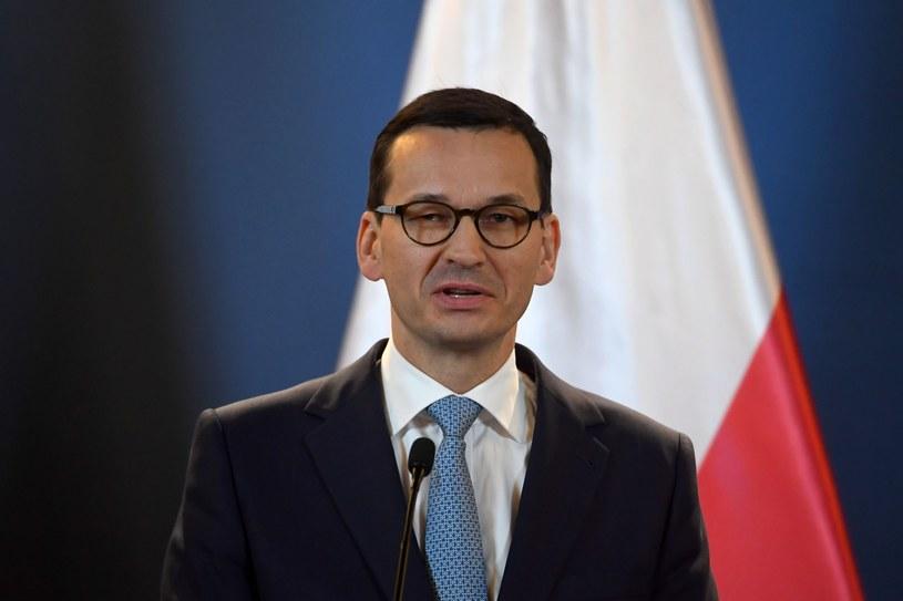 Premier Mateusz Morawiecki /Attila Kisbenedek /East News