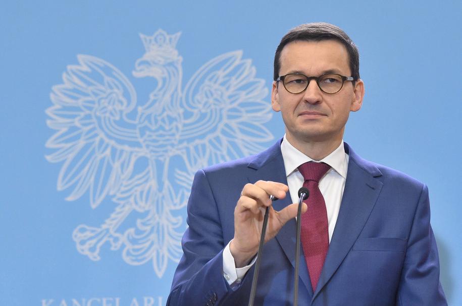 Premier Mateusz Morawiecki /Radek Pietruszka /PAP