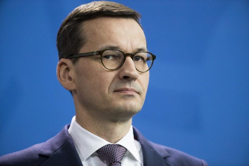 Premier Mateusz Morawiecki / Emmanuele Contini/NurPhoto/Sipa USA /East News