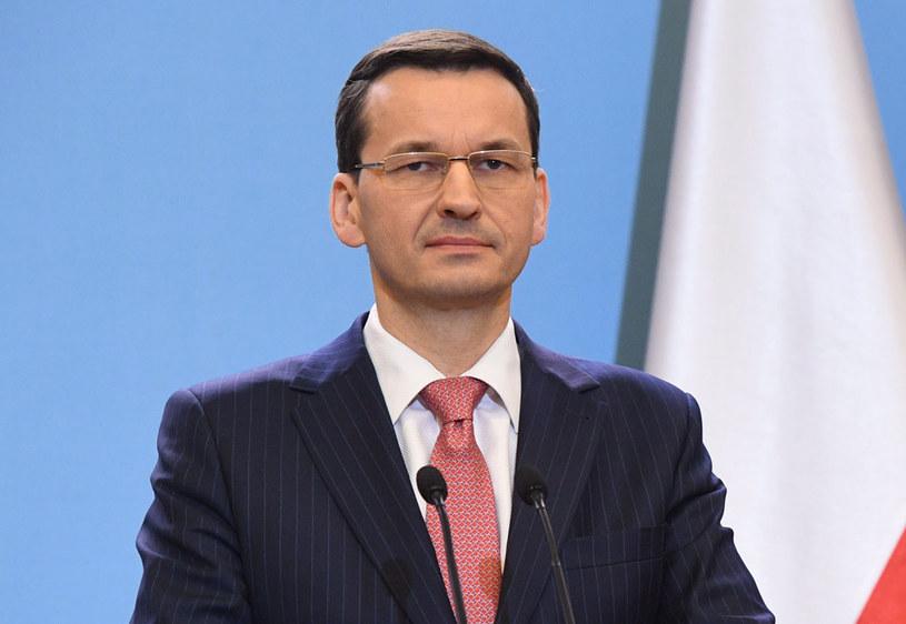Premier Mateusz Morawiecki /Radek Pietruszka /AFP