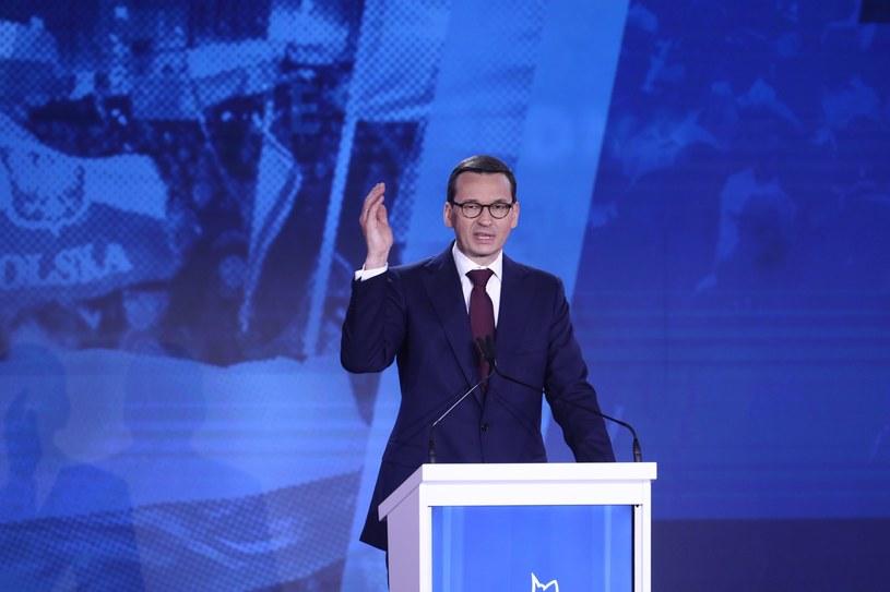 Premier Mateusz Morawiecki /Stanisław Kowalczuk /East News