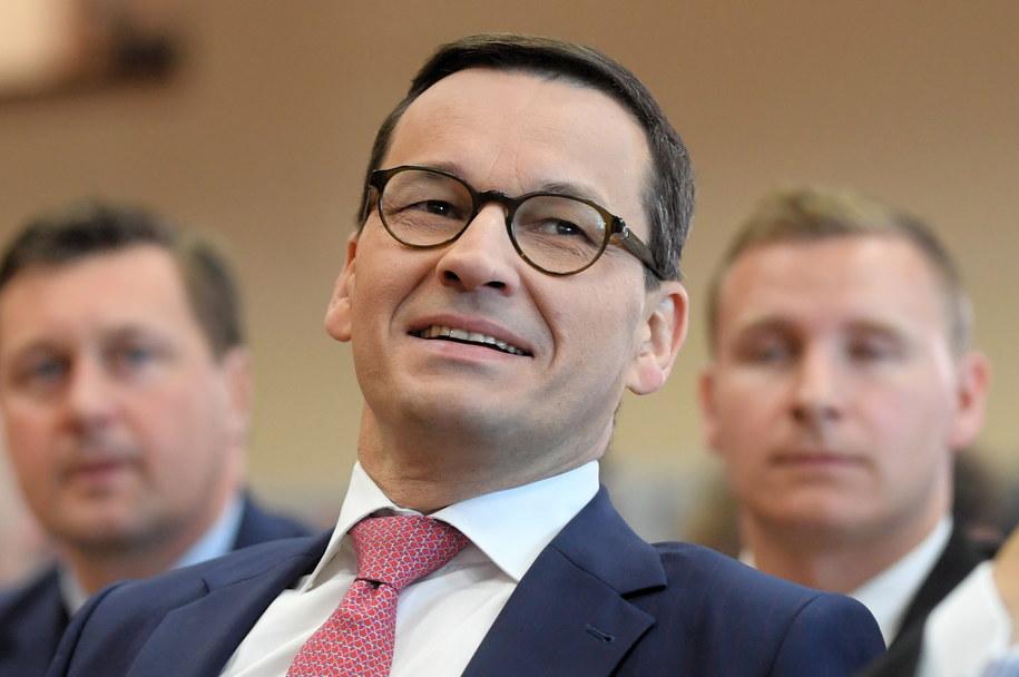 Premier Mateusz Morawiecki /Tytus Żmijewski /PAP