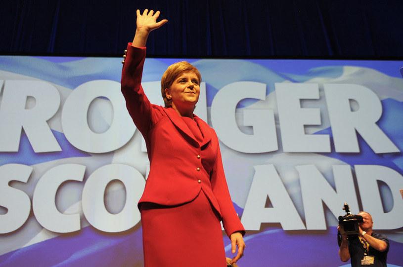 Premier Nicola Sturgeon dąży do oderwania Szkocji od Wielkiej Brytanii /AFP