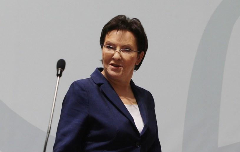 Premier RP Ewa Kopacz, zdj. ilustracyjne /STANISLAW KOWALCZUK /East News