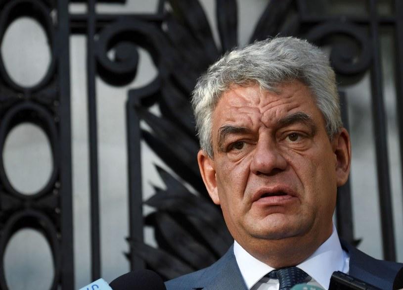 Premier Rumunii Mihai Tudose /AFP