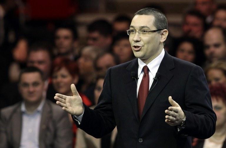 Premier Rumunii Victor Ponta /AFP