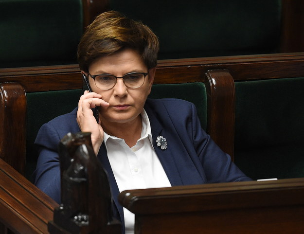 Premier rządu RP Beata Szydło /PAP