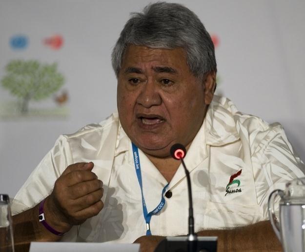 Premier Sailele Malielegaoi Tuilaepa /AFP