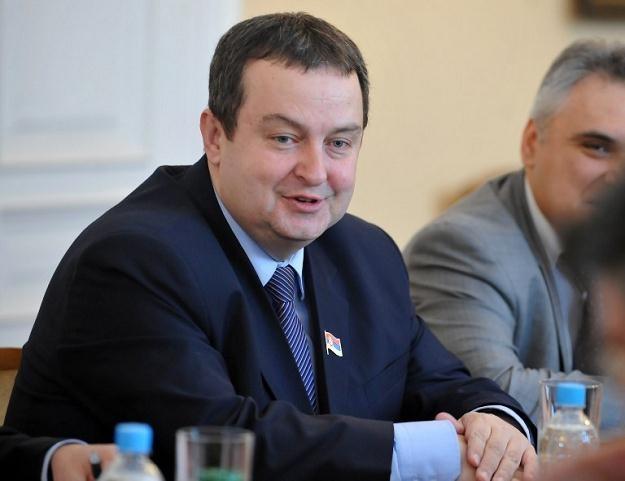 Premier Serbii Ivica Daczić /AFP