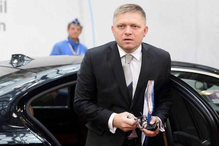 Premier Słowacji Robert Fico /AFP