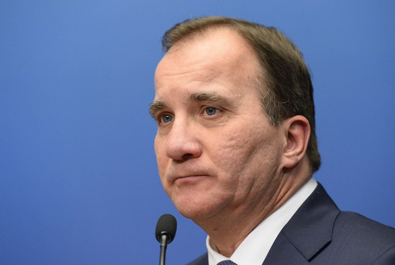 Premier Szwecji Stefan Loefven, zdj. ilustrcyjne /JONATHAN NACKSTRAND/AFP /East News
