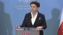 Premier Szydło o podwyżkach cen za ubezpieczenia OC (TV Interia)