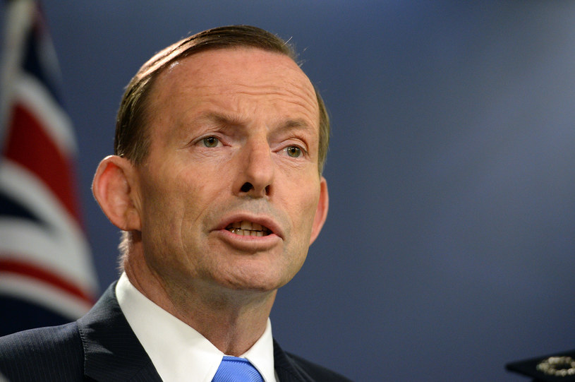 Premier tamtejszego rządu Tony Abbott /AFP