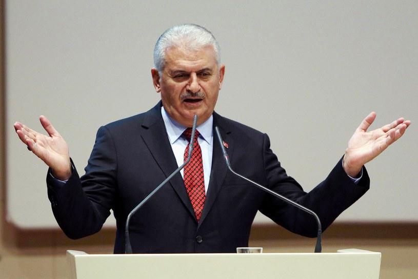 Premier Turcji Binali Yildirim /AFP