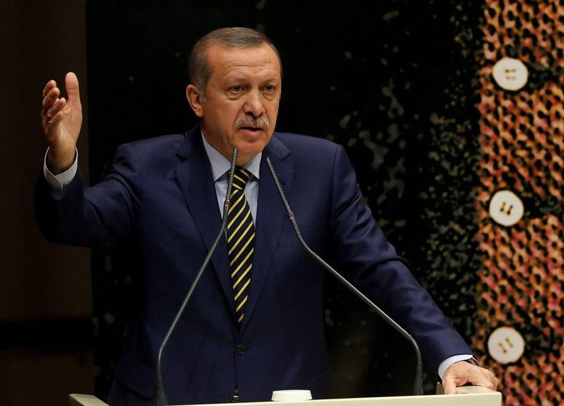 Premier Turcji Recep Tayyip Erdogan /PAP/EPA