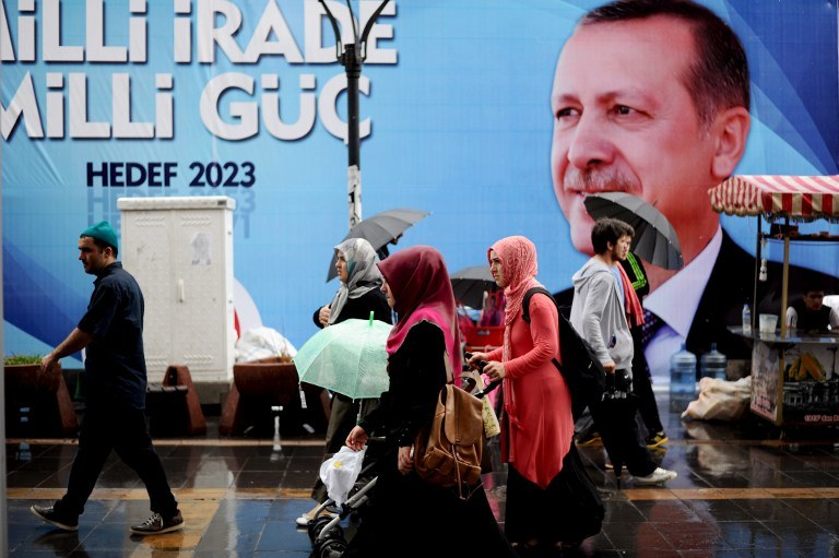 Premier Turcji Recep Tayyip Erdogan /AFP