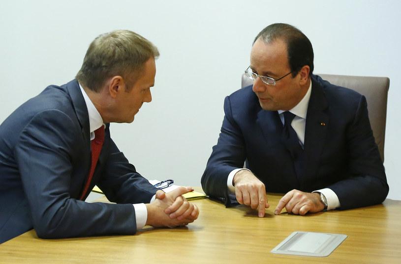 Premier Tusk rozmawiał z prezydentem Francji /AFP