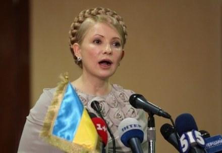 Premier Ukrainy Julia Tymoszenko /AFP