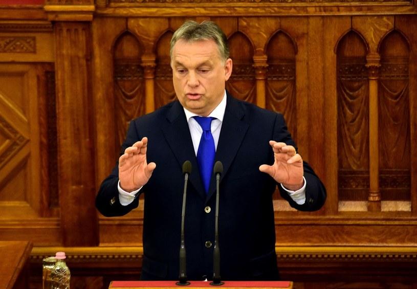 Premier Węgier Viktor Orban jest jednym z najzagorzalszych krytyków polityki migracyjnej UE /AFP