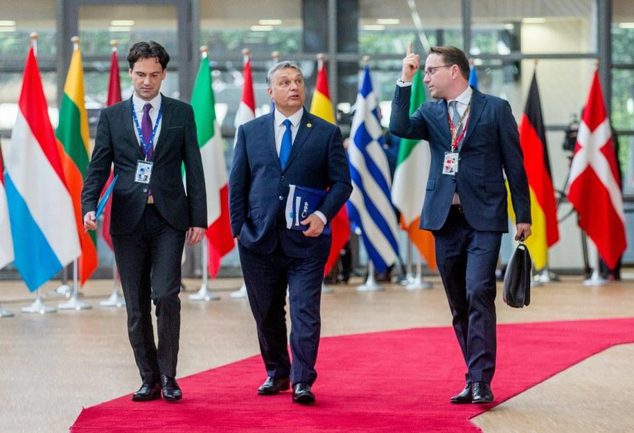 Premier Węgier Viktor Orban /STEPHANIE LECOCQ  /PAP/EPA