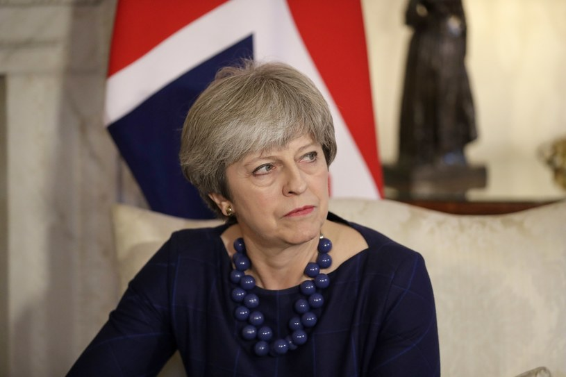 Premier Wielkiej Brytanii Theresa May /AP /East News