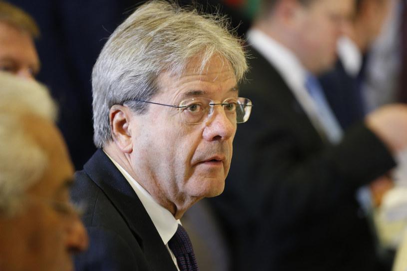 Premier Włoch Paolo Gentiloni nie komentuje głosowania w sprawie autonomii /JULIEN WARNAND /AFP