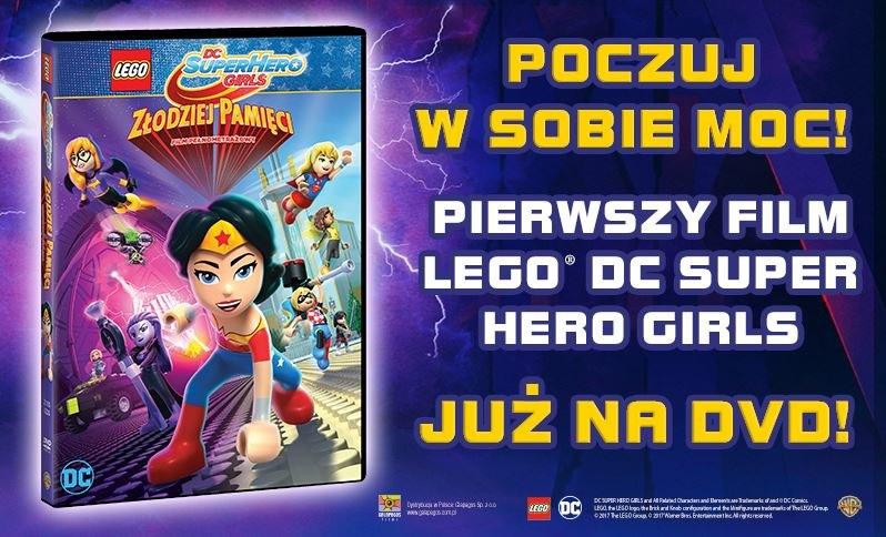 "Premiera filmu ""LEGO DC Super Hero Girls"" /materiały prasowe"