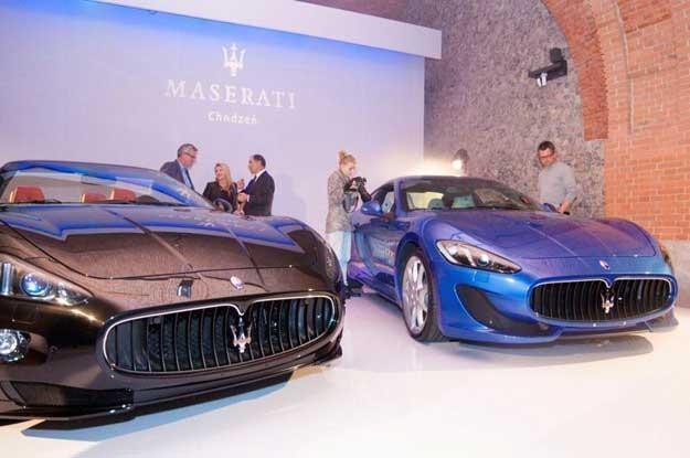 Premiera Maserati w Polsce odbyła się w zabytkowych Arkadach Kubickiego /