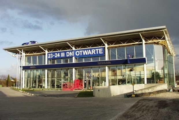 Premiera Primery zbiegła się w czasie z otwarciem nowego salonu Nissana w Krakowie (kliknij) /INTERIA.PL
