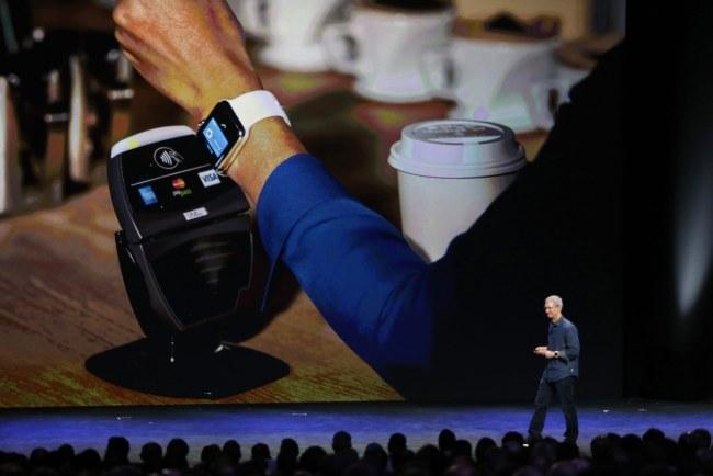 Prezentacja Apple Pay /PAP/EPA/MONICA DAVEY /PAP/EPA