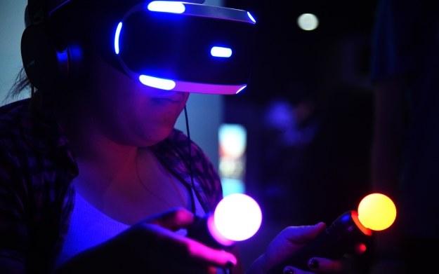 Prezentacja gogli PlayStation VR na targach E3 2016 w Los Angeles /AFP