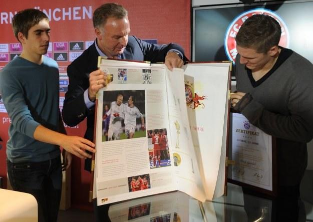 Prezentacja kroniki Bayernu Monachium /AFP