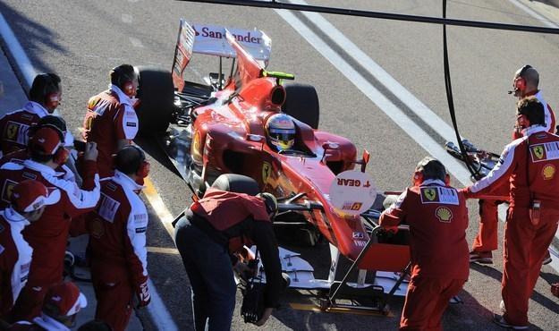 Prezentacja nowego bolidu Ferrari odbędzie się pod koniec stycznia /AFP