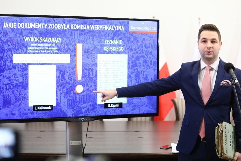 Prezentacja Patryka Jakiego /Leszek Szymański /PAP