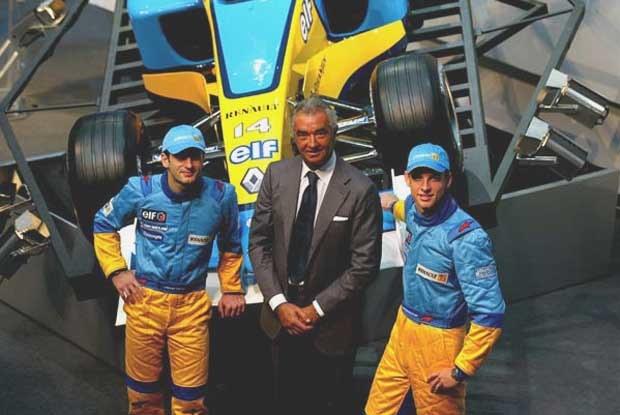 Prezentacja Renault F1 (kliknij) /INTERIA.PL