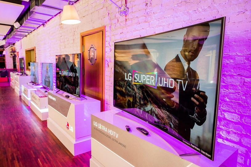 Prezentacja telewizorów LG Super UHD w Warszawie /materiały prasowe
