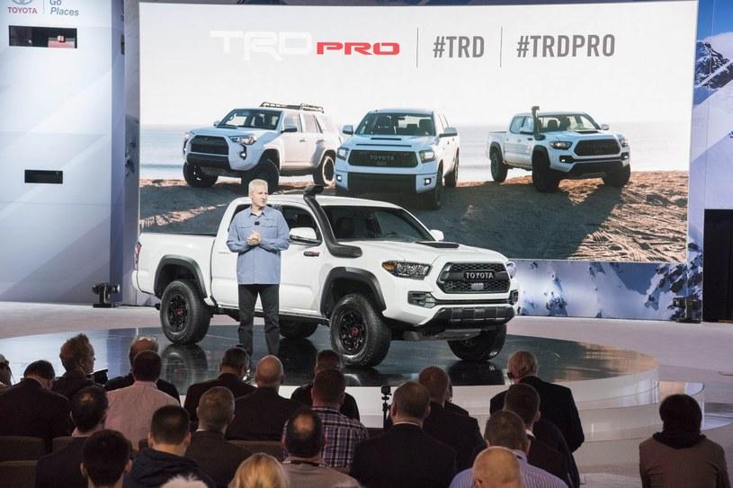 Prezentacja Toyot TRD /