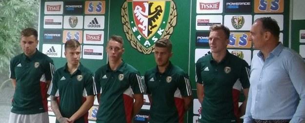 Prezentacja zawodników Śląska Wrocław /