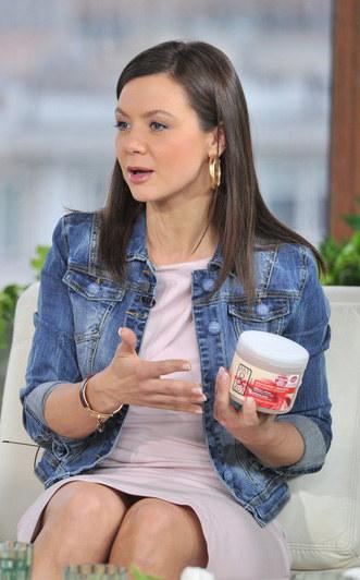 Prezenterka tak bardzo zafascynowała się ideą kosmetyków eco, że stworzyła własną serię do pielegnacji /East News