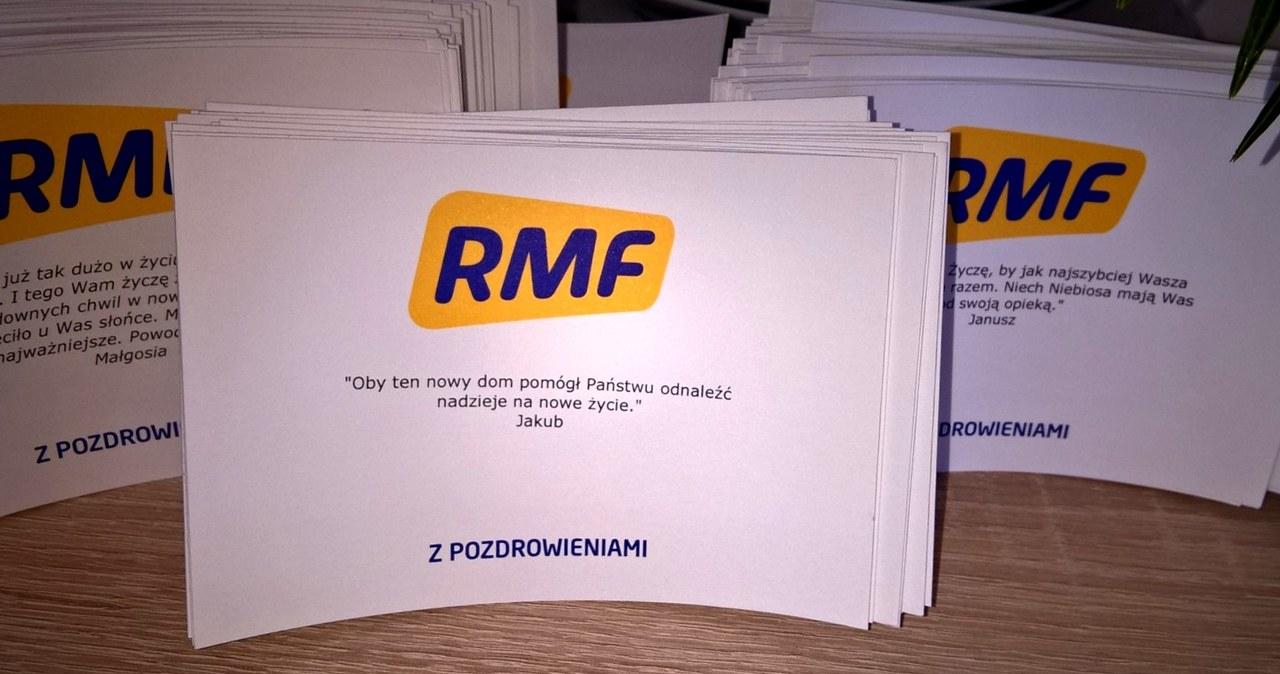 Prezenty od słuchaczy RMF FM dla rodziny z Szydłowca