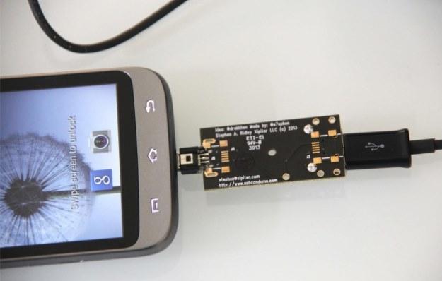 """""""Prezerwatywa USB"""" - ciekawe rozwiązanie, które ma zabezpieczyć nasze urządzenie podłączone poprzez USB /materiały prasowe"""