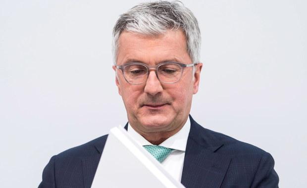 Prezes Audi zatrzymany. Powód - afera spalinowa