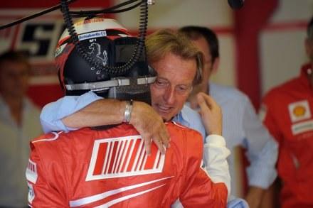 Prezes Ferrari wspiera Kimiego Raikkonena /AFP