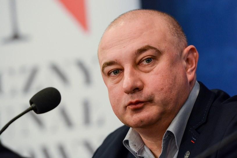 """Prezes fundacji """"Łączka"""" Tadeusz Płużański /Mariusz Gaczyński /East News"""