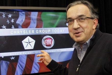 Prezes grupy Fiata i Chrysler, Sergio Marchionne /AFP