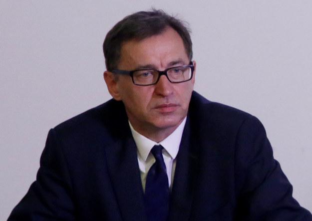Prezes Instytutu Pamięci Narodowej Jarosław Szarek /Tomasz Gzell /PAP