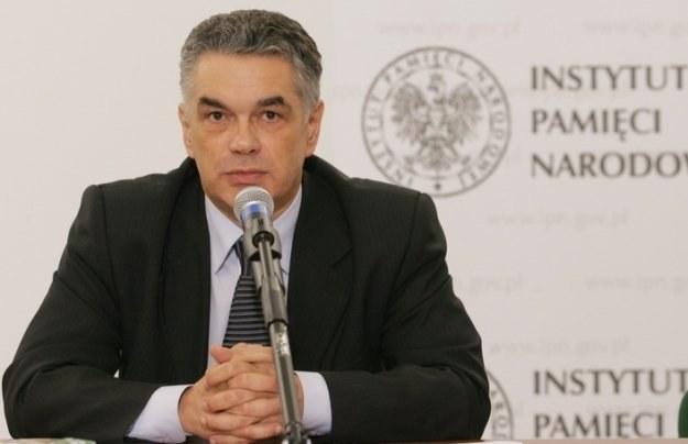 Prezes IPN Janusz Kurtyka / fot. P. Kowalczyk /Agencja SE/East News