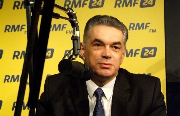 Prezes IPN Janusz Kurtyka /RMF