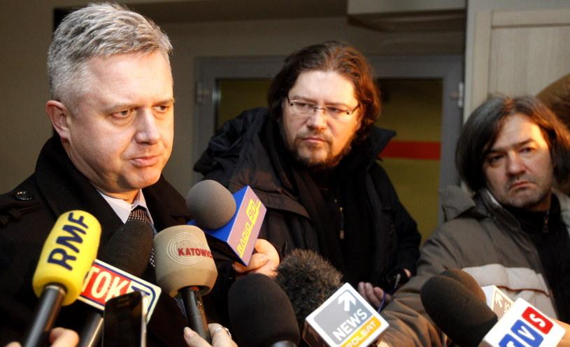 Prezes JSW - Jarosław Zagórowski, podczas konferencji prasowej w Jastrzębiu Zdroju /Andrzej Grygiel /PAP